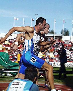 Emiliano Pizzoli Italian hurdler