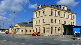 Riesa - railway station
