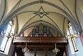 Empore mit Luther Rose im Gewölbe der Evang. Pfarrkirche A.B. Weißbriach, Gitschtal, Kärnten.jpg