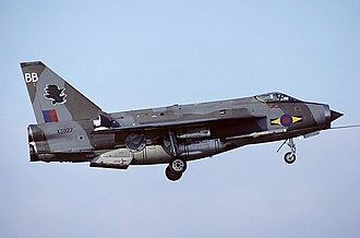 No. 11 Group RAF - A No. 11 Squadron English Electric F6 based at RAF Binbrook, part of No. 11 Group.