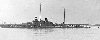 <i>Enns</i>-class river monitor ship