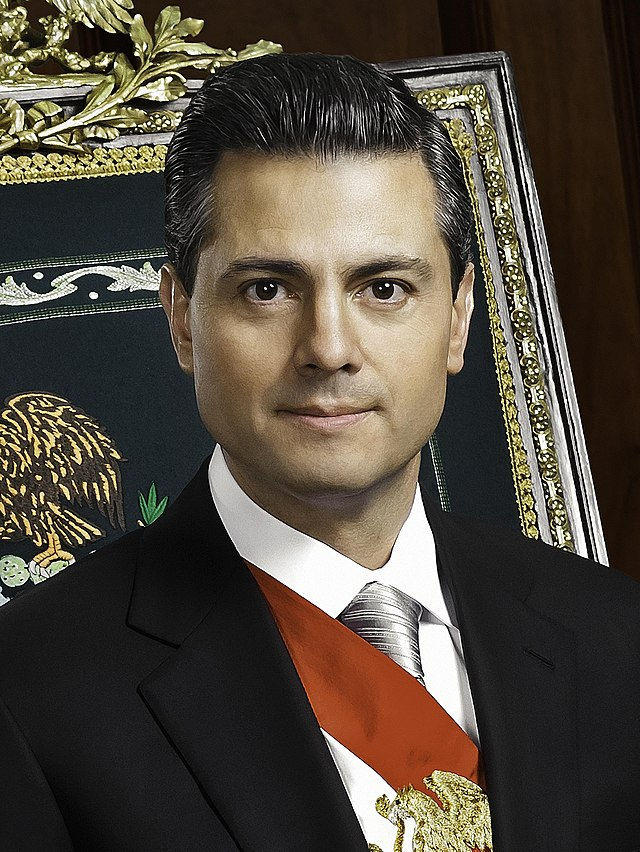 From commons.wikimedia.org: Enrique Pena Nieto {MID-148590}