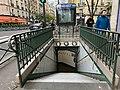 Entrée Station Métro Boucicaut Paris 3.jpg