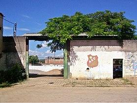 Entrada principal do Estádio Josemar Soares, Coronel Fabriciano MG.jpg