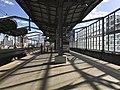 Entrance of Heisei Chikuho Railway on platform of Yukuhashi Station 2.jpg