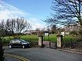 Entrance to park, Summerhill Terrace, Newcastle - geograph.org.uk - 1738827.jpg