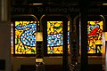 Entry 7 Line, Flushing - Main Street, Stained Glass, 40th Street Platform, Queens, NY, Yumi Heo artist, 2007 - panoramio.jpg