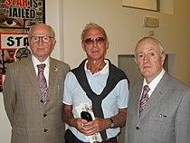 Erik Pevernagie with Gilbert & George, Sept 2012 cropped.jpg