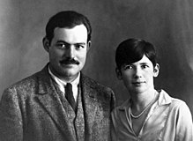 Ernest and Pauline Hemingway, Paris, 1927.jpg