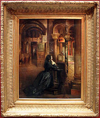 Femme en prière à Saint-Marc de Venise
