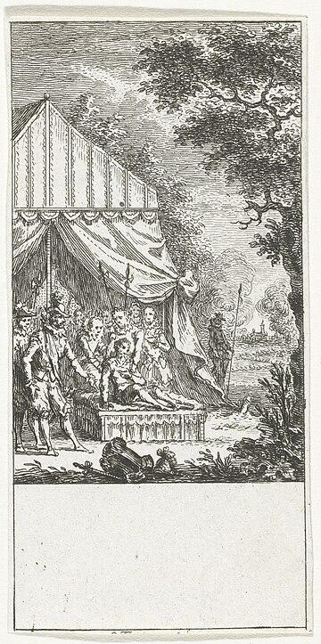 Ernst Casimir sneuvelt te Roermond 1632