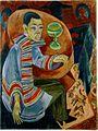 Ernst Ludwig Kirchner - Der Trinker (Selbstbildnis).jpg