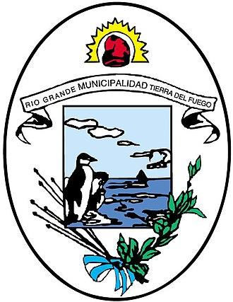 Río Grande, Tierra del Fuego - Image: Escudo oficial rio grande
