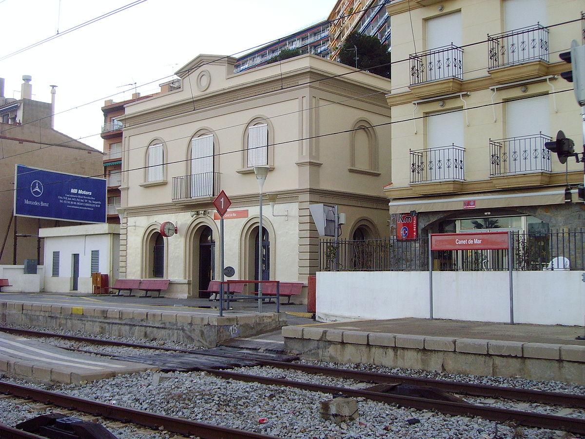 Station canet de mar wikipedia for Piscina canet de mar