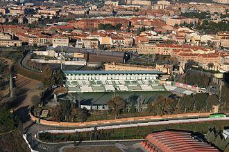 Estadio Salto del Caballo - Image: Estadio Salto del Caballo donde juega el Club Deportivo Toledo desde 1973