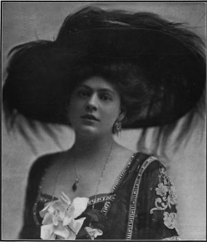 Lady Frederick - Ethel Barrymore, in 1908 when she was playing Lady Frederick in the original New York production.