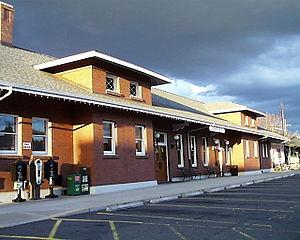 Eugene–Springfield station - Image: Eug Depot South