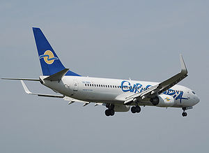 A Eurocypria Airlines Boeing 737-800, named &q...