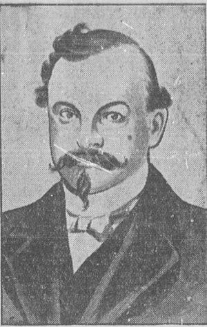Ezra P. Savage - Image: Ezra Savage ca 1901 (sketch)