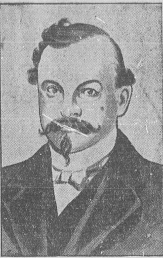 Ezra P. Savage - Image: Ezra Savage ca 1901 (sketch)