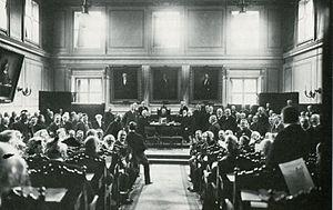 Första kammaren - Image: Första kammaren 1900