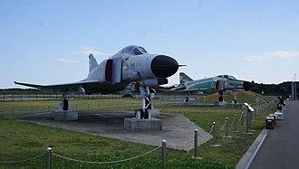 Ibaraki Airport - ex-JASDF F-4EJs on display at Ibaraki airport (2017)