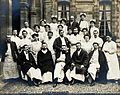 F. Lejars and the staff of Tenon hospital, Paris. Photograph Wellcome V0028225.jpg