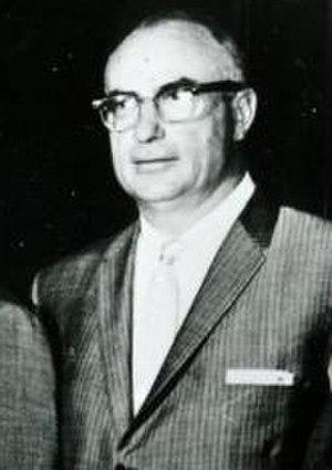 History of the Oakland Raiders - F. Wayne Valley, original Raiders owner, 1961.