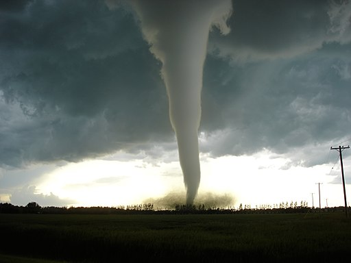 F5 tornado Elie Manitoba 2007