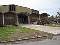 FEMA - 37423 - Damaged Chalmette High School, in 2005 - Katrina Third Year Recovery.jpg