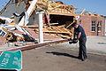 FEMA - 44043 - FEMA Videographer at Disaster Scene in Mississippi.jpg