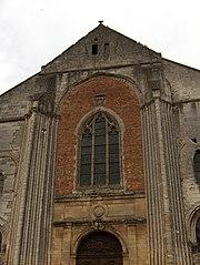 Façade de l'abbaye Saint-Germer-de-Fly