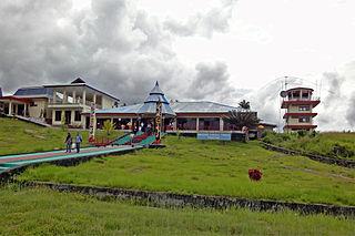 Fakfak Town in West Papua, Indonesia