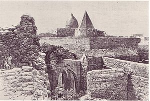 History of Somalia - Engraving of the 13th century Fakr ad-Din Mosque built by Fakr ad-Din, the first Sultan of the Sultanate of Mogadishu.