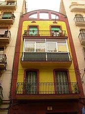 viviendas en C/ Elkano, Barcelona (1910)