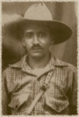 1932 Salvadoran peasant massacre - Agustín Farabundo Martí, leader of the Communist Party of El Salvador