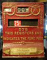 Fare payment register, Ohmer Car Register Co. - San Francisco Cable Car Museum - San Francisco, CA - DSC04009.jpg