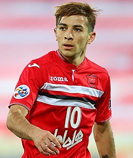 Iranian association football player