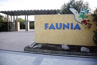 Faunia - Image: Faunia entrada