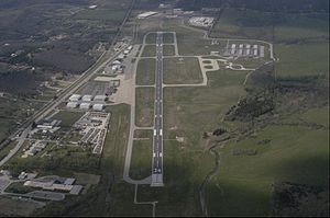 Drake Field - Aerial view