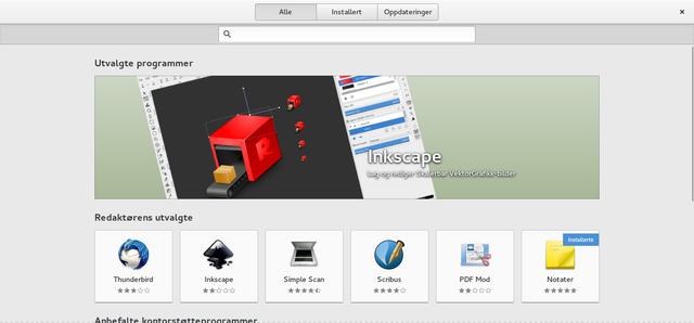 Loja de aplicações do GNOME