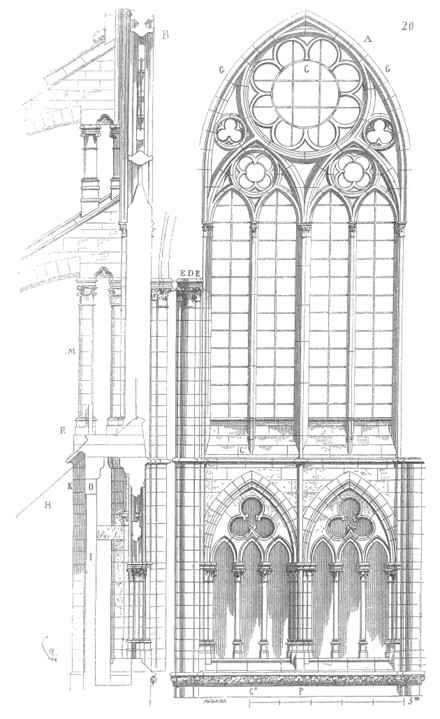 Dictionnaire raisonn de l architecture fran aise du xie for Les charlots ouvre la fenetre