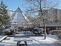 Fennpfuhlpark mit Kirche Januar 2009.JPG