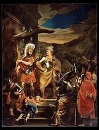 Ferdinand Bol - Fabritius and Pyrrhus - Google Art Project.jpg