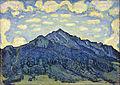 Ferdinand Hodler - Landschaft in den Schweizer Alpen - Google Art Project.jpg