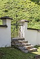 Ferlach Loibltal Sankt Leonhard Friedhof Eingangstor 07062016 2615.jpg