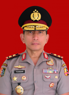 Fiandar, Governor of Indonesian National Police Academy.png