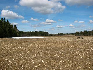 Kanavere Village in Harju County, Estonia