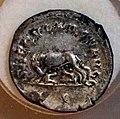 Filippo l'arabo, antoniniano per le celebrazioni del millenario di roma, 248 dc, lupo.JPG