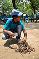 Fire-making - Survival Programme - Summer Camp - Nisana Foundation - Sibpur BE College Model High School - Howrah 2013-06-09 9655.JPG